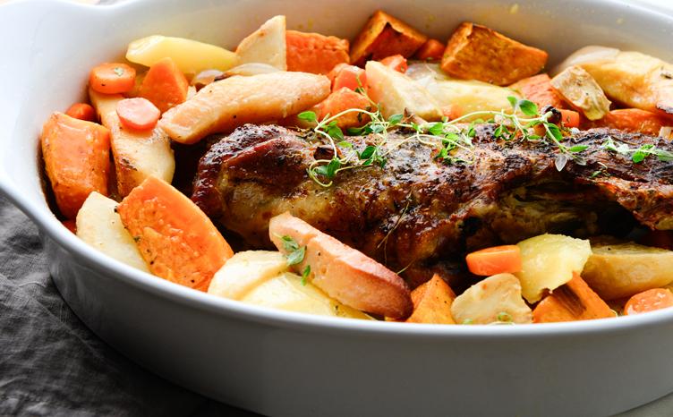 αρνάκι με λαχανικά