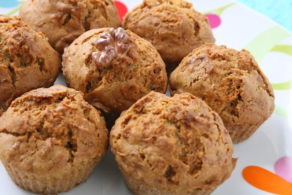 συνταγή muffin με καρότο