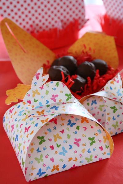 συνταγή σοκολατένια τρουφάκια