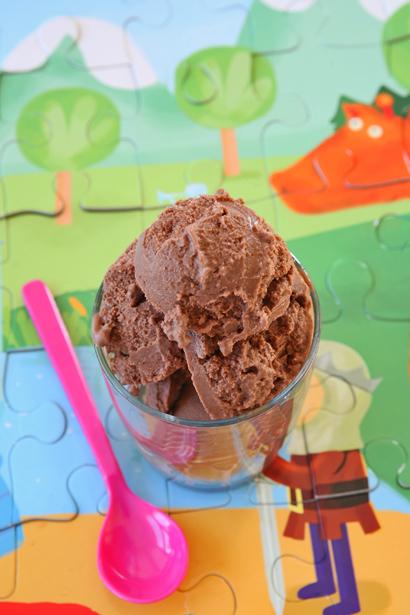 συνταγή παγωτό σοκολάτα χωρίς ζάχαρη